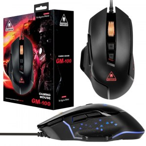 MYSZ GAMINGOWA DLA GRACZY USB LED GM-100 4000 DPI